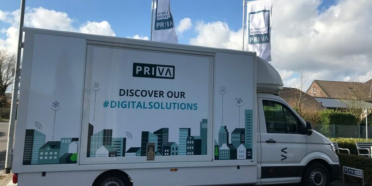 Unterwegs mit Priva – Priva on Tour